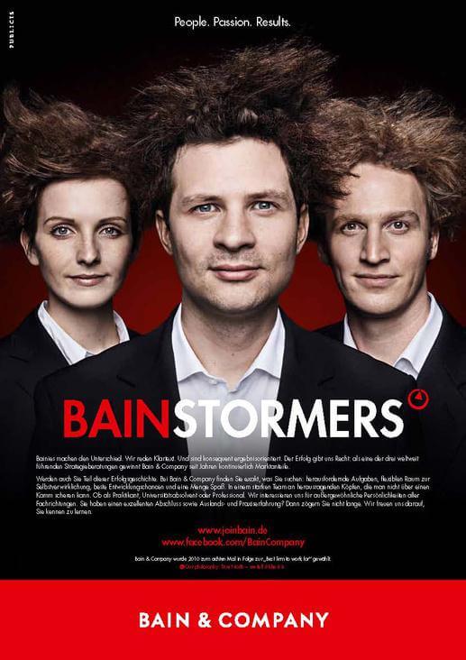 Bain&Company Stellenanzeige