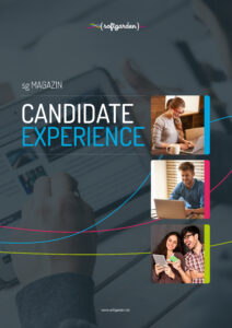 Cover softgarden Magazin Candidate Experience