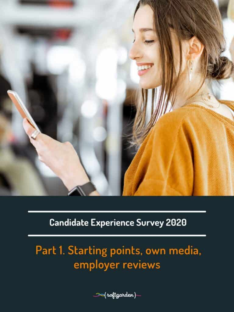 candidate experience survey 2020 softgarden